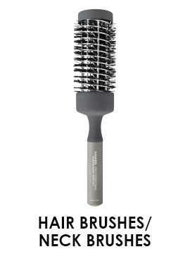 hair brushes neck brushes